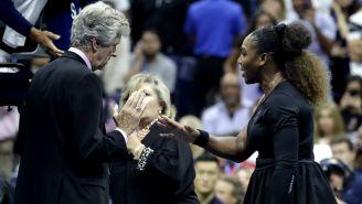 Serena Williams reclama al juez tras recibir castigo