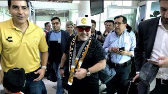 Maradona viaja a Sinaloa para dirigir a Dorados
