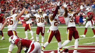 Redskins festejan triunfo frente a Cardinals