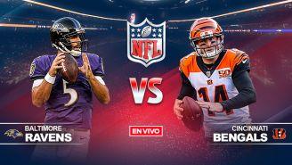 EN VIVO Y EN DIRECTO: Baltimore Ravens vs Cincinnati Bengals