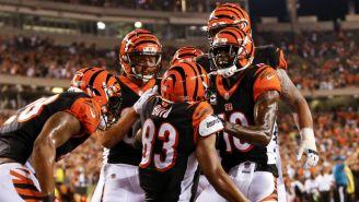 Bengals festeja anotación frente a Ravens en la S2 de NFL