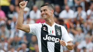 Cristiano durante un partido de Juventus