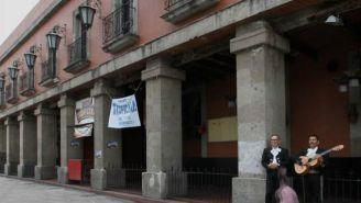 Mariachis en la Plaza de Garibaldi