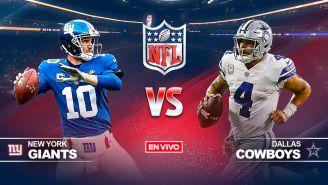 EN VIVO Y EN DIRECTO: New York Giants vs Dallas Cowboys