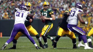 Vikings y Packers en acción en la Semana 2 de la NFL