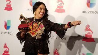 Lila Downs, en una entrega de los Grammy's