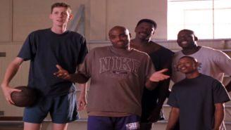 Los cinco jugadores que participaron en la película Space Jam