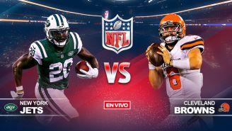 EN VIVO y EN DIRECTO: NY Jets vs Browns