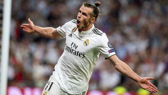 Bale, celebra gol contra la Roma en Champions