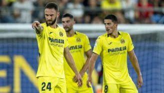 Miguel Layún durante un partido del Villarreal