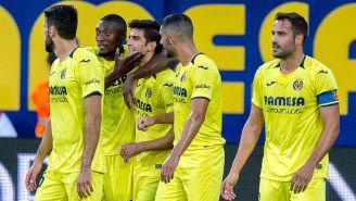 Villarreal festeja triunfo frente al Leganés