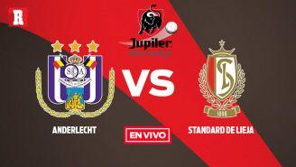 EN VIVO y EN DIRECTO: Anderlecht vs Standard de Lieja