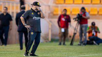 Maradona lamenta derrota frente a Alebrijes de Oaxaca