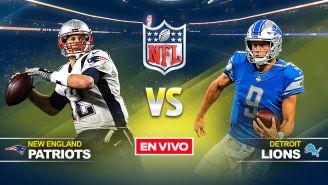 EN VIVO Y EN DIRECTO: New England Patriots vs Detroit Lions