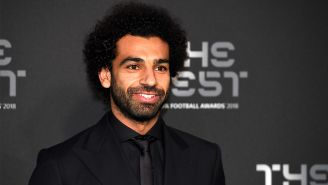 Mohamed Salah, en la gala de los Premios The Best