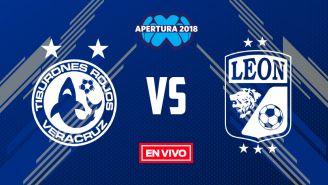 EN VIVO y EN DIRECTO: Veracruz vs León