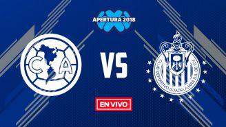 EN VIVO y EN DIRECTO: América vs Chivas