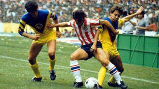 Hermosillo jugó varios Clásicos con la camiseta azulcrema