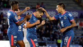 Monterrey festeja gol de Celso Ortíz en la J6