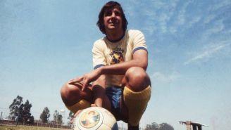 Enrique Borja cuando era jugador del América
