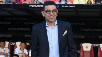 David Patiño durante un partido de Pumas