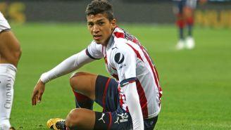 Zaldívar venía siendo titular con Chivas en anteriores duelos del torneo