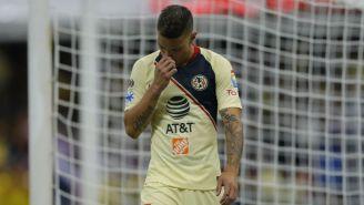 Mateus Uribe después de fallar el penal contra Chivas