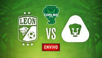 EN VIVO y EN DIRECTO: León vs Pumas Cuartos de Final Copa MX