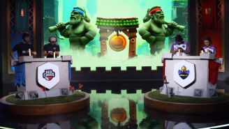Los jugadores de Red Canids y Vivo Keyd se enfrentan en una partida