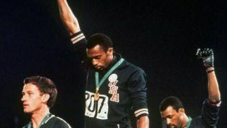 El momento exacto del saludo del 'Black Power' en México 1968