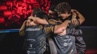 La escuadra del Infinito, tras una victoria en Worlds 2018