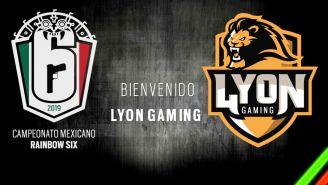 Lyon Gaming rugirá en el campeonato mexicano de R6S