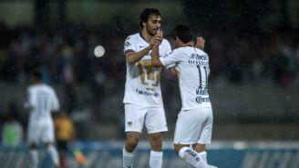 Alejandro Arribas celebra triunfo de Pumas en Copa MX