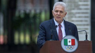 Carlos Padilla en celebración del 50 aniversario de México 68
