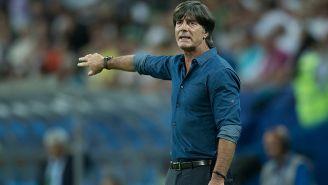 Löw da indicaciones en juego de Alemania en el Mundial