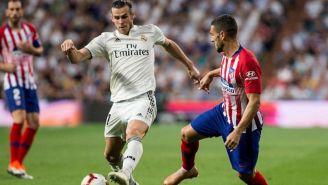Bale en un partido con el Real Madrid