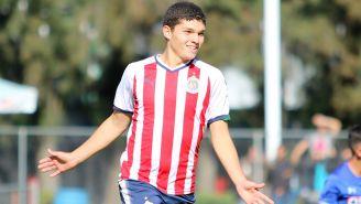 'Chevy' Martínez es el goleador de Chivas Sub 17