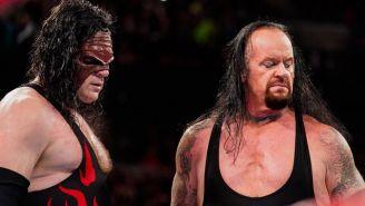Undertaker y Kane en Monday Night RAW