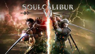Mitsurugi y Geralt de Rivia protagonizan la portada del nuevo Soul Calibur VI