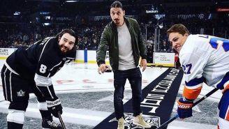 Zlatan lanza primer disco en juego La Kings