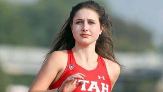 Lauren McCluskey campeona estatal de salto de altura
