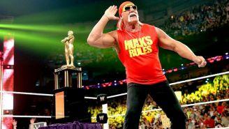 Hulk Hogan en un show de RAW