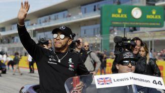 Lewis Hamilton durante el Circuito de las Américas