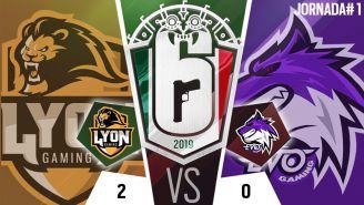 Lyon Gaming se impuso por 2-0 en su primera partida