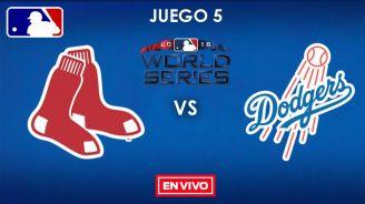 EN VIVO y EN DIRECTO: Red Sox vs Dodgers