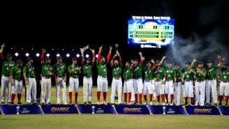 México festeja Campeonato en la Copa Mundial de beisbol Sub 23