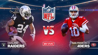 EN VIVO y EN DIRECTO: Raiders vs 49ers
