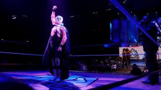 Atlantis durante una función del CMLL