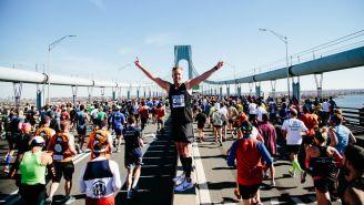 Participantes del Maratón de Nueva York 2018