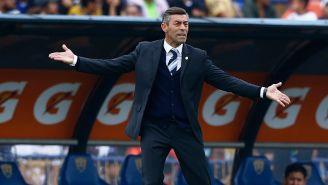 Caixinha reclama en juego entre Pumas y Cruz Azul